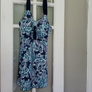 SKIRTED Tanki Swim Suit Top